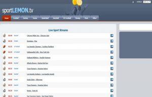 SportLemons live stream sports channels free