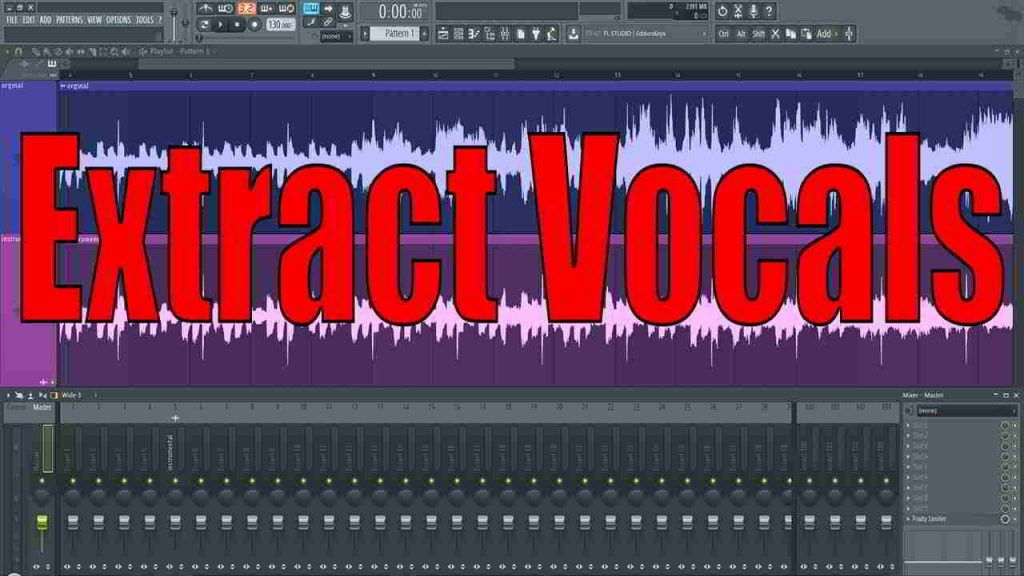 extract vocals from a song