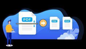 splitting PDF